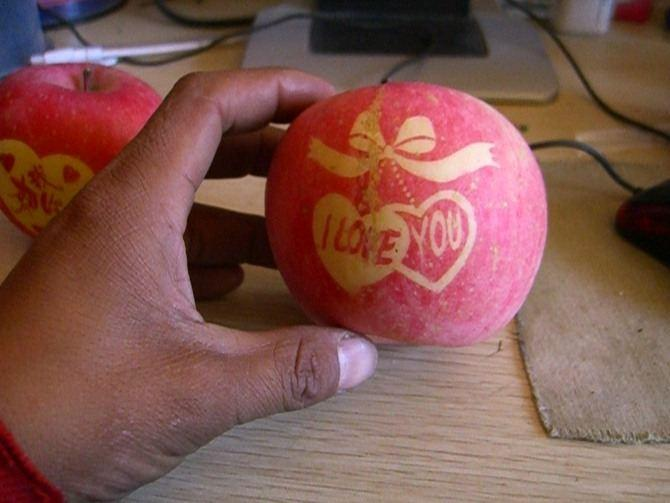 圣诞苹果钩法图解