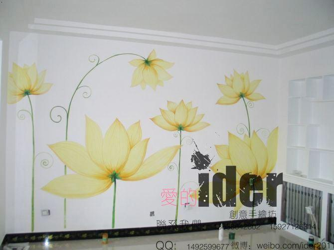 武汉手绘墙 家装,工装彩绘