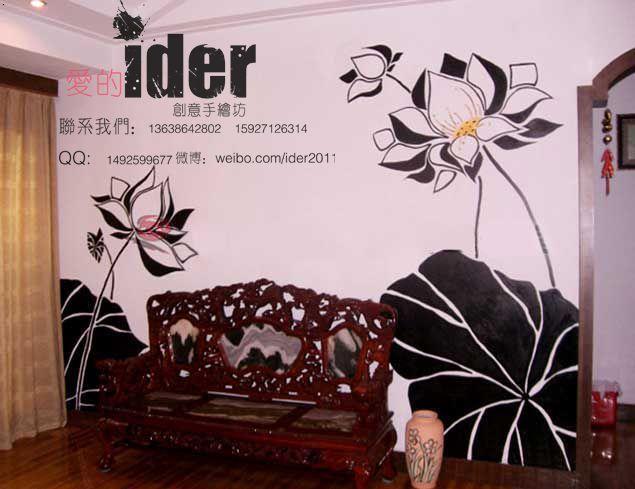 武汉手绘墙酒吧墙体彩绘,网吧墙体彩绘