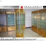 钛镁合金展柜,济南展柜,济南产品展示柜,济南展示柜制作