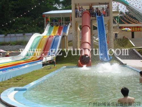 儿童水上滑梯图