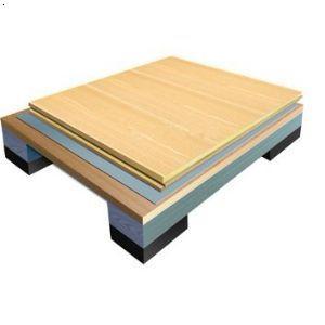 双层板单龙骨专业型运动木地板