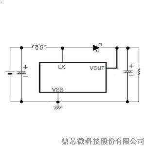 5V升压电路