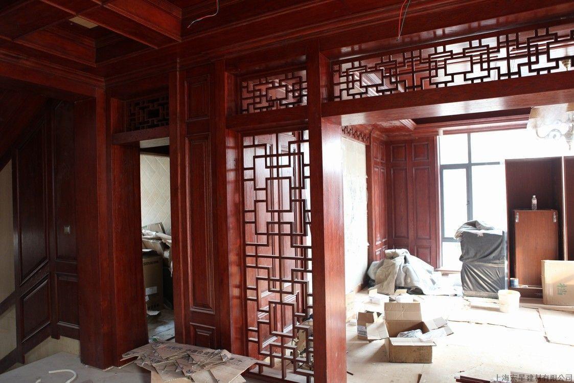 实木护墙板,实木楼梯,实木酒柜