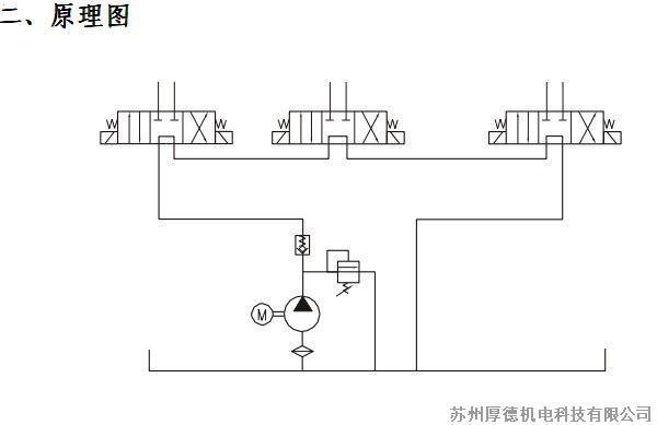 扒胎机液压系统图片