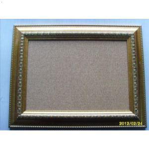 金黄色树脂边框软木板