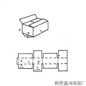 产品首页 包装 包装制品配附件 鹤壁纸箱厂供应特殊全摇盖开槽纸箱
