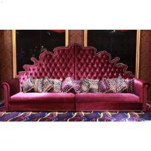 专业定制豪华ktv欧式软包沙发led发光茶几家具