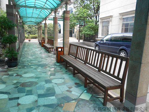 防腐木 阳台 庭院