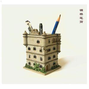 产品首页 礼品,工艺品,饰品 礼品,工艺品,饰品设计 碉楼笔筒