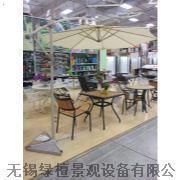 无锡防腐木太阳伞供应