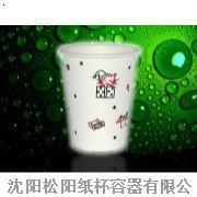 9盎司纸杯 冷饮纸杯 一次性热饮纸杯