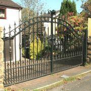 铁艺门,铁艺楼梯护栏、铁艺空调护栏