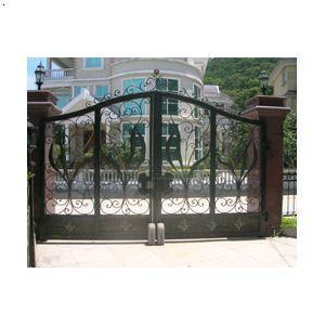 厂家批发供应铁艺庭院门走轮式自动开门机