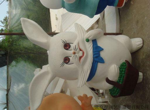 模特人物动物彩绘雕塑