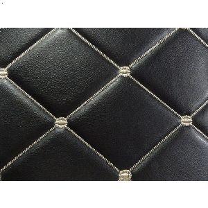 黑色皮革材质素材图
