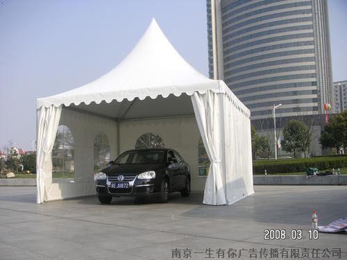 南京展览篷房搭建南京欧式尖顶篷房出租南京图片
