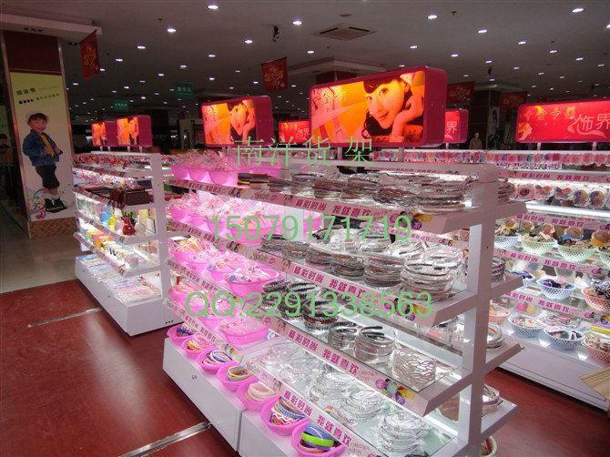 广州饰品店货柜款式图片,货架,哎呀呀饰品,货架提供商