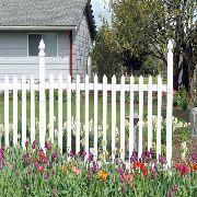 洋房别墅草坪栏杆,高质量PVC栏杆供应