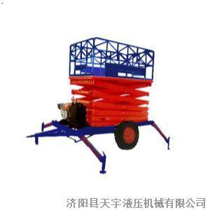 【两轮牵引式液压升降机】厂家图片