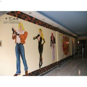开封墙绘,开封涂鸦,墙体彩绘,酒吧电玩酒店ktv涂鸦装修
