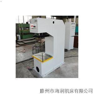 【100吨单臂液压机 100t单柱液压机图片