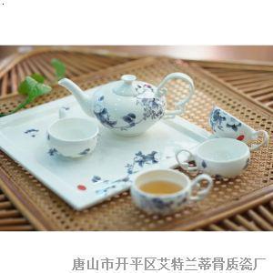 骨质瓷茶具 暗香