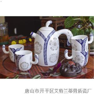 7头望月茶具(兰)贵妃醉酒