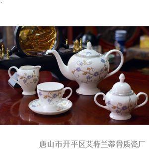 骨质瓷咖啡具--玉树琼花