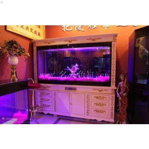 名人鱼缸2米欧式d款白色