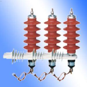 10kV带脱离器型氧化锌避雷器图片