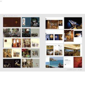 矢量分层画册模板国外平面排版设计素材