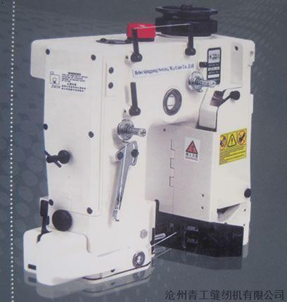 具体调整编织袋缝纫机跳线弹簧的步骤:首先旋松编织袋缝纫机的固定