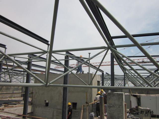 屋顶钢结构制作
