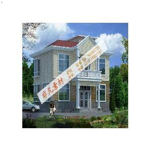 两层别墅设计施工图纸 新农村自建房屋设计图纸 别墅设计图纸