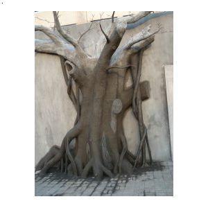 【水泥假树】厂家,价格,图片_湖南环雅景观雕塑艺术