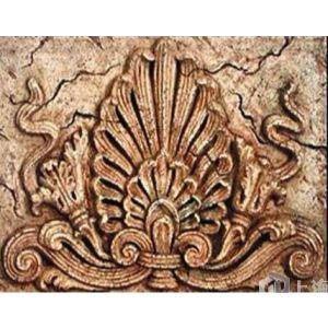 欧式花饰砂岩浮雕图片