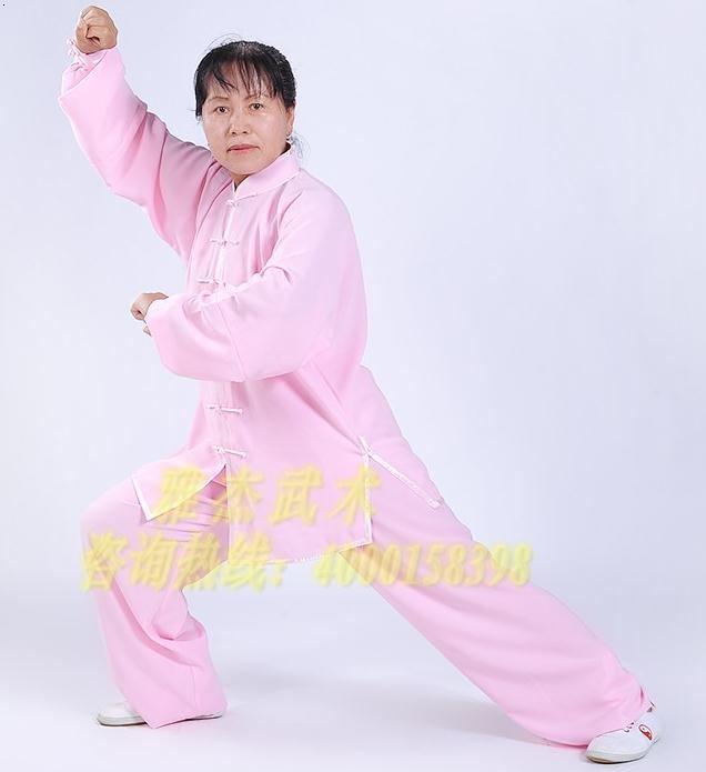 太极服装武术服中式服装太极裤棉.