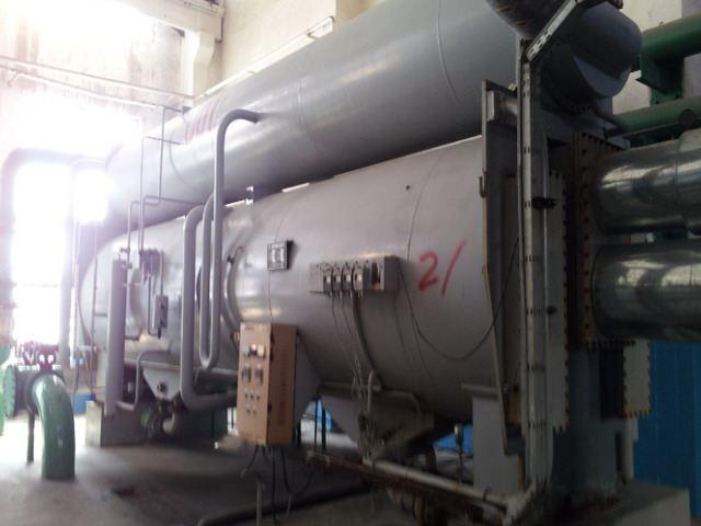 回收690万大卡溴化锂制冷机|无锡辉利制冷设备大手提铁盒图片
