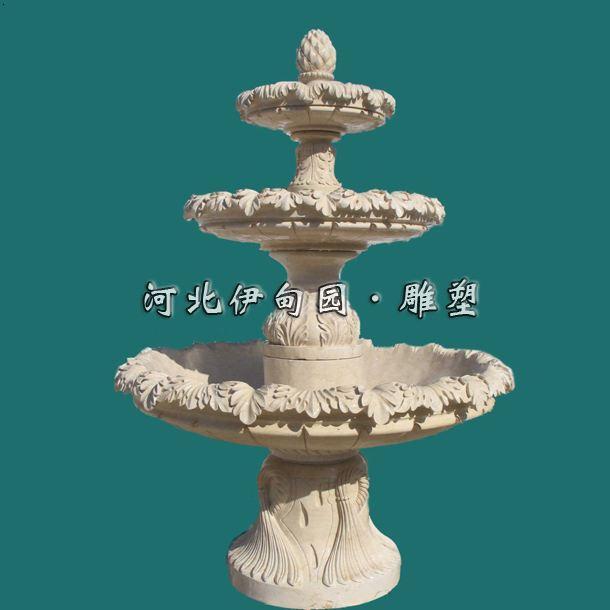 塑/喷泉设计图/欧式