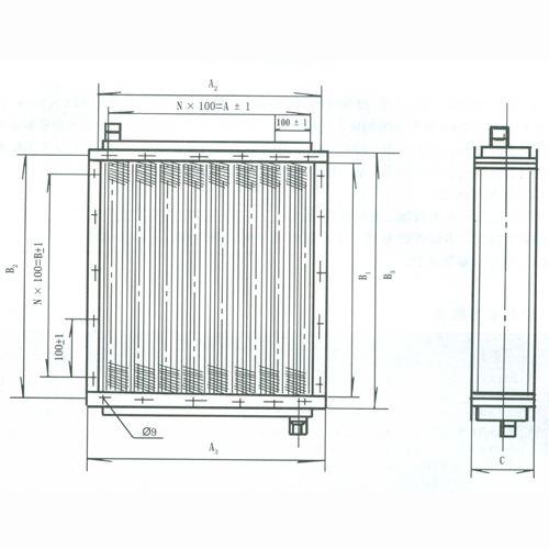 华夏40塔吊基础图纸