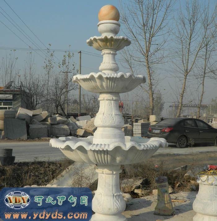 欧式喷泉 广场喷泉 石雕喷泉制作 喷泉设计图河北伊甸园园林雕塑工程