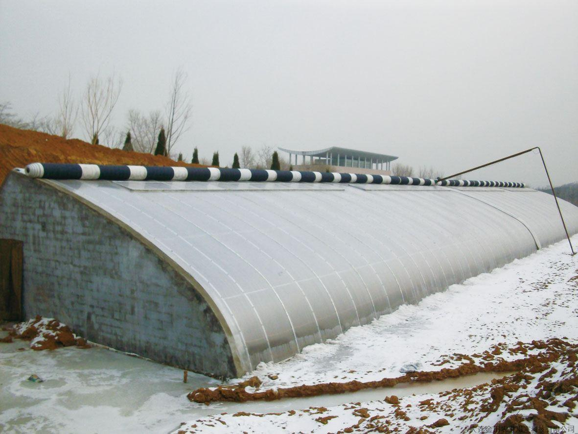 【日光温室】农业科技示范园日光温室设计图_日光温... _土木在线