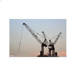 建筑设备,架子管,扣件等;塔吊型号有qtz40大臂长42