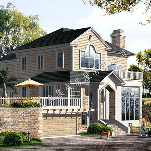 南方现代中式小别墅
