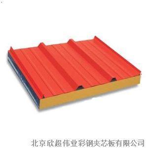 屋面 岩棉 夹芯板施工 方案北京机制岩棉 彩钢 板规