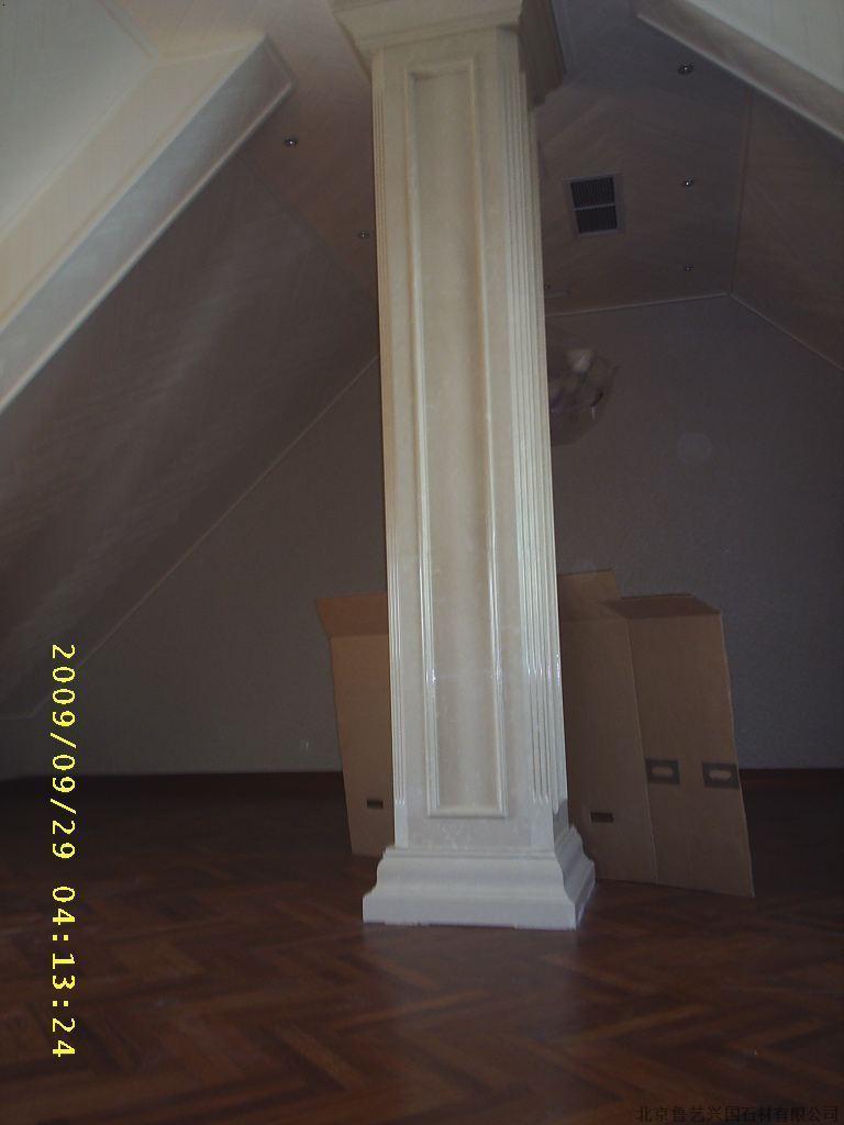 天津大理石雕花方柱