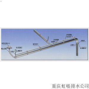 重庆虹吸排水管道工程雨水斗安装示意图