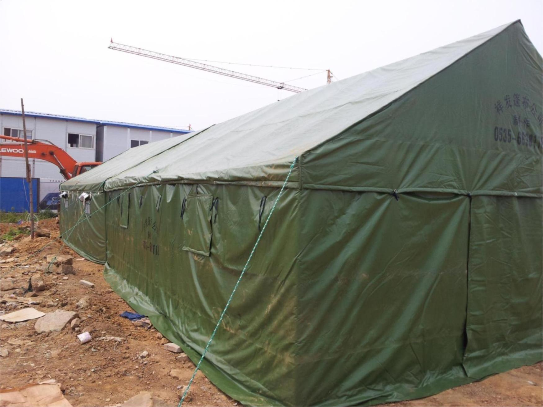 帐篷绳子怎么安装图解