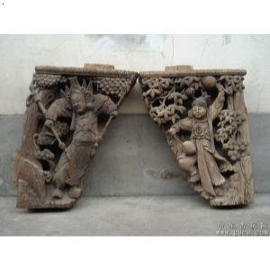 古建筑老木雕花板 木雕装修装饰设计